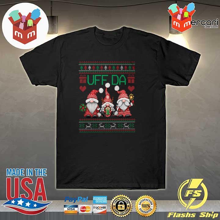 2020 gnomes uff da nisser merry christmas xmas ugly sweatshirt