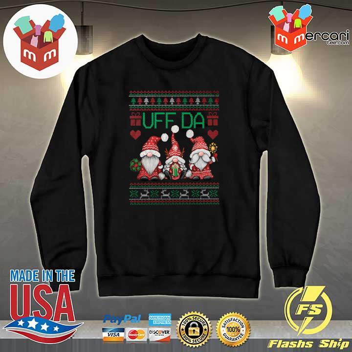 2020 gnomes uff da nisser merry christmas xmas ugly sweats Sweater