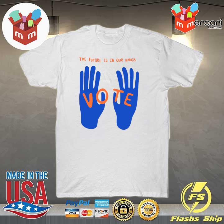 2020 joe biden and kamala harris the future is in our hands vote shirt