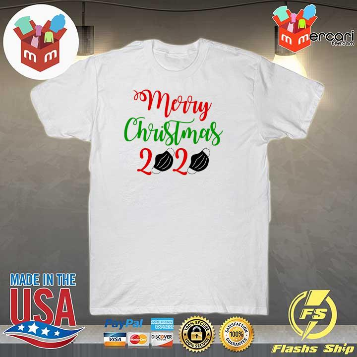 2020 merry christmas 2020 face mask sweatshirt