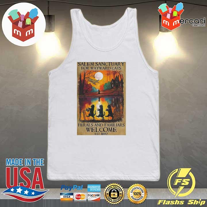 2020 salem sanctuary for wayward cats ferals and familiars welcome sweats Tank-top