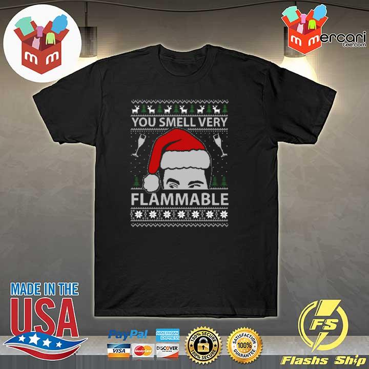 2020 you smell very flammable schitt's creek christmas sweatshirt