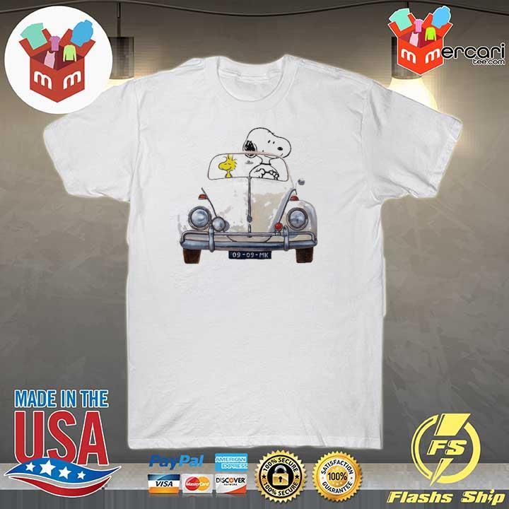 Official vw beetle car snoopy and woodstock sweatshirt