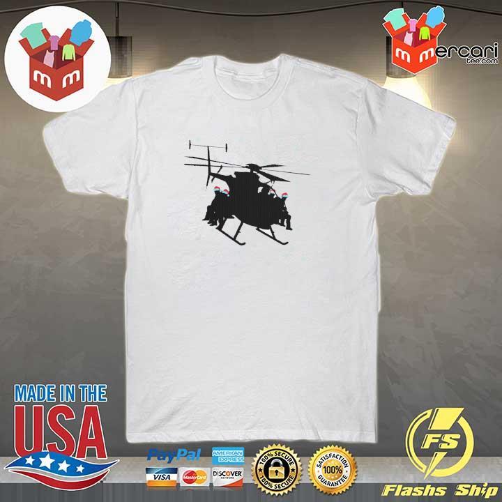 Santa Claus Helicopter Merry Christmas Sweatshirt