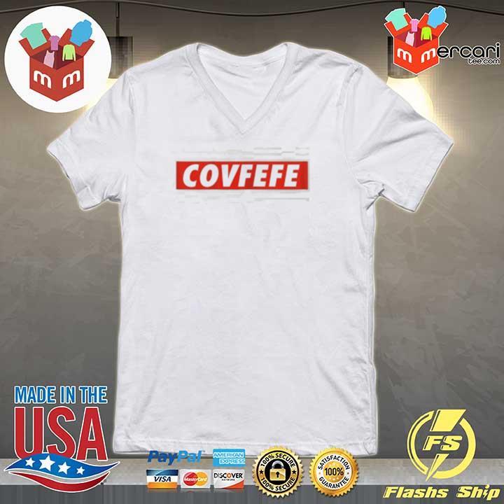 The COVFEFE Trump Sweats V-neck