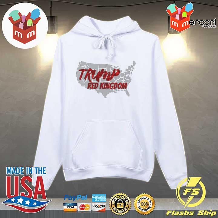 Trump red kingdom s Hoodie