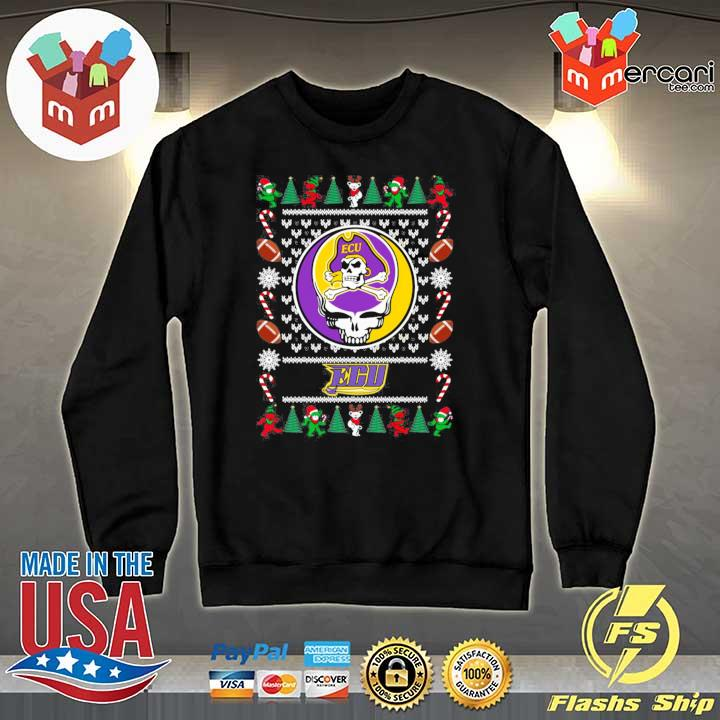 2020 east carolina pirates grateful dead ugly christmas xmas ugly sweats Sweater