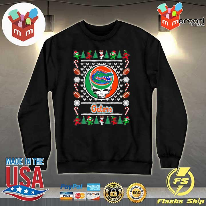 2020 florida gator grateful dead ugly christmas xmas ugly sweats Sweater