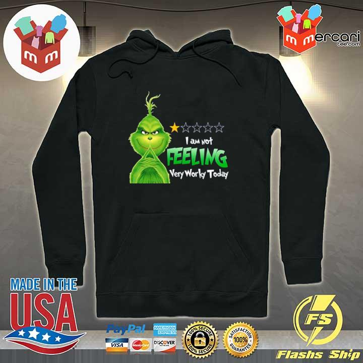 2020 grinch i am not feeling very worky today s Hoodie