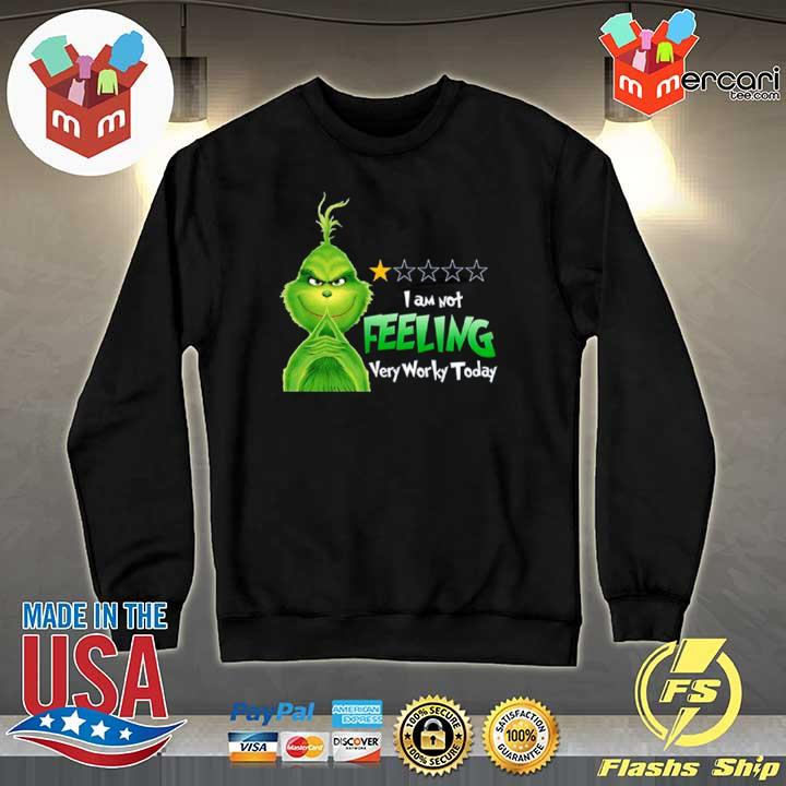 2020 grinch i am not feeling very worky today s Sweater
