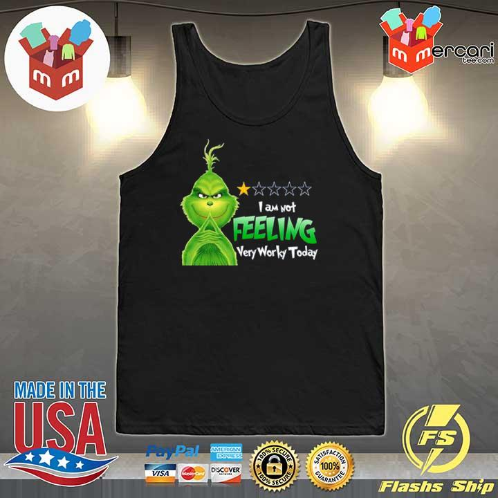 2020 grinch i am not feeling very worky today s Tank-Top