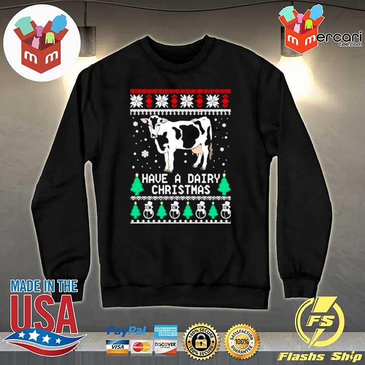 2020 have a dairy ugly christmas s Sweater