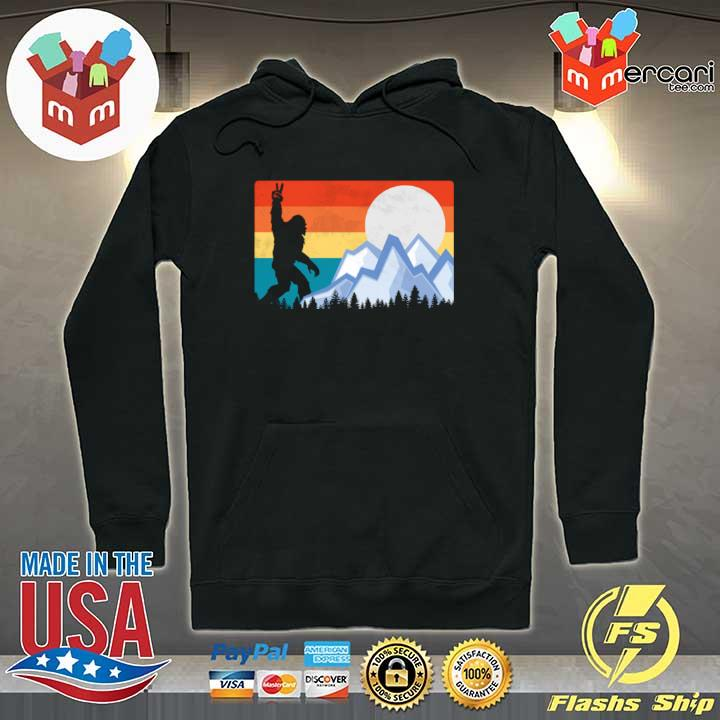 2020 vintage bigfoot sunset hiking outdoors wilderness sweats Hoodie
