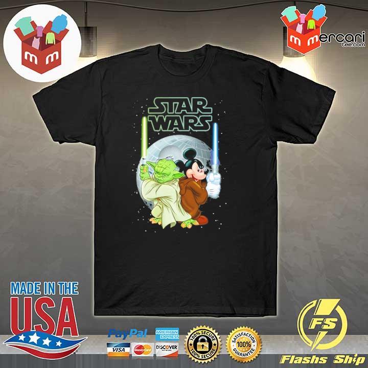 Baby Yoda And Mickey Star Wars Sweatshirt