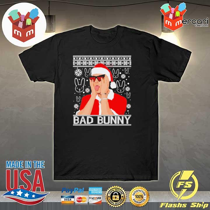 Bad Bunny Christmas Ugly Sweatshirt