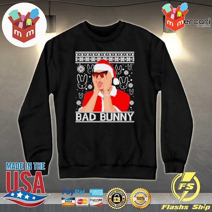 Bad Bunny Christmas Ugly Sweats Sweater