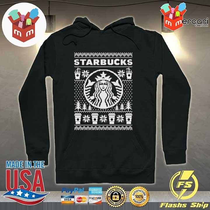 Starbucks Christmas Xmas Ugly Sweats Hoodie