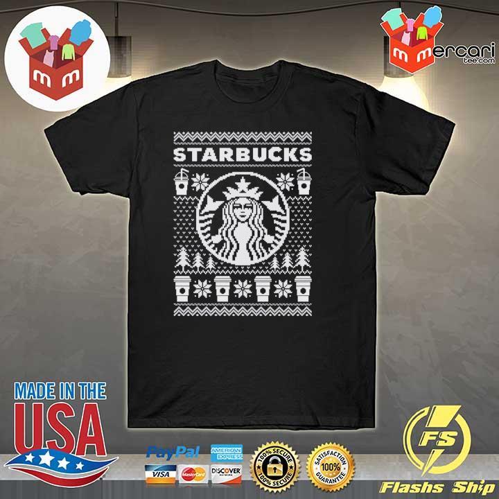 Starbucks Christmas Xmas Ugly Sweatshirt
