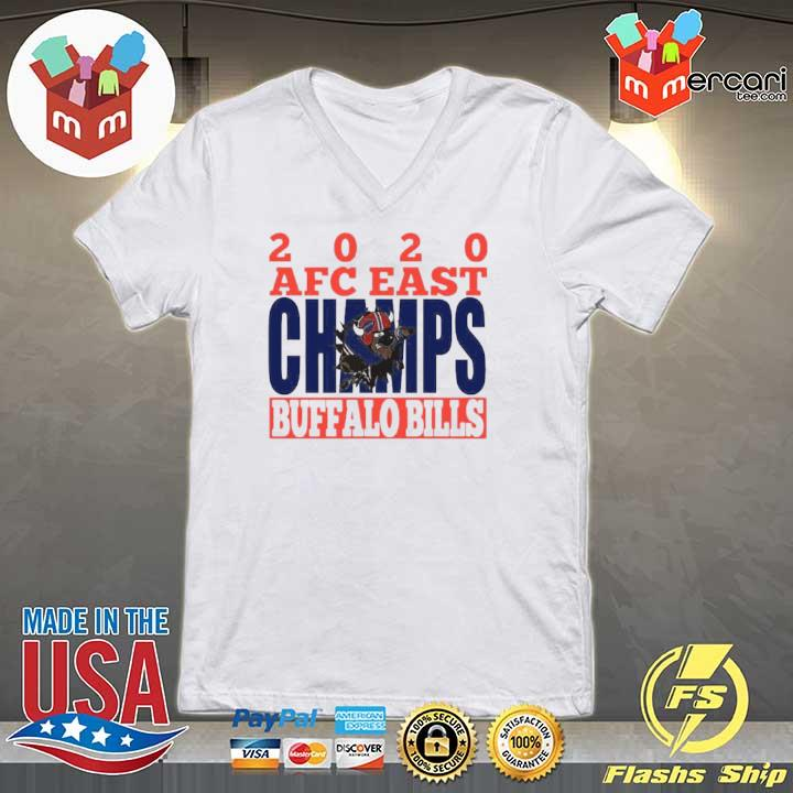 2020 Afc East Champs Buffalo Bills Football s V-neck