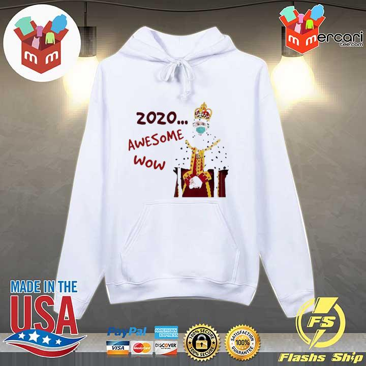 2020 awesome wow hamilton king george s Hoodie