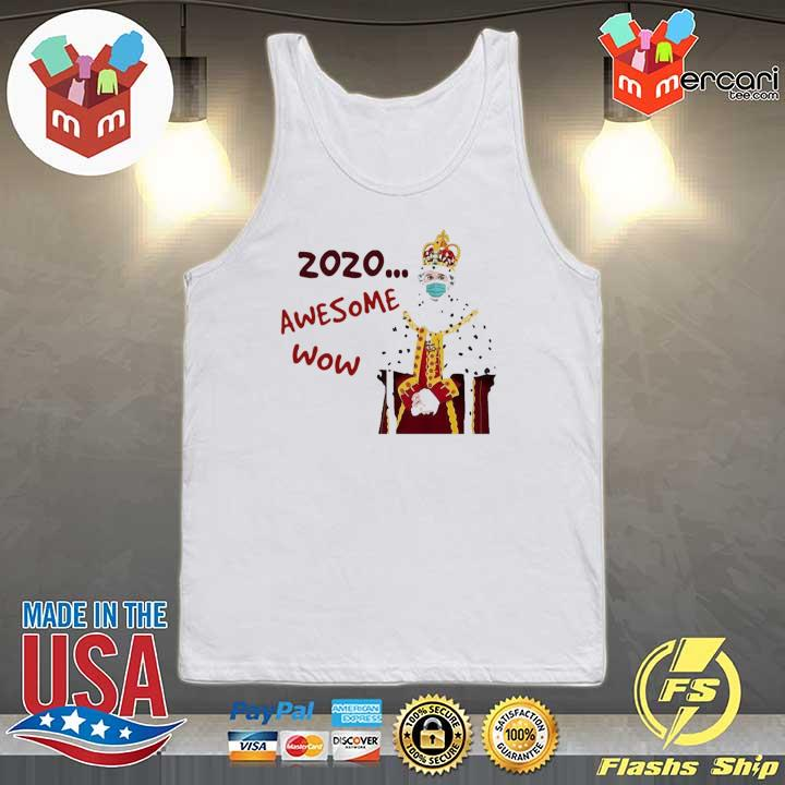 2020 awesome wow hamilton king george s Tank-top